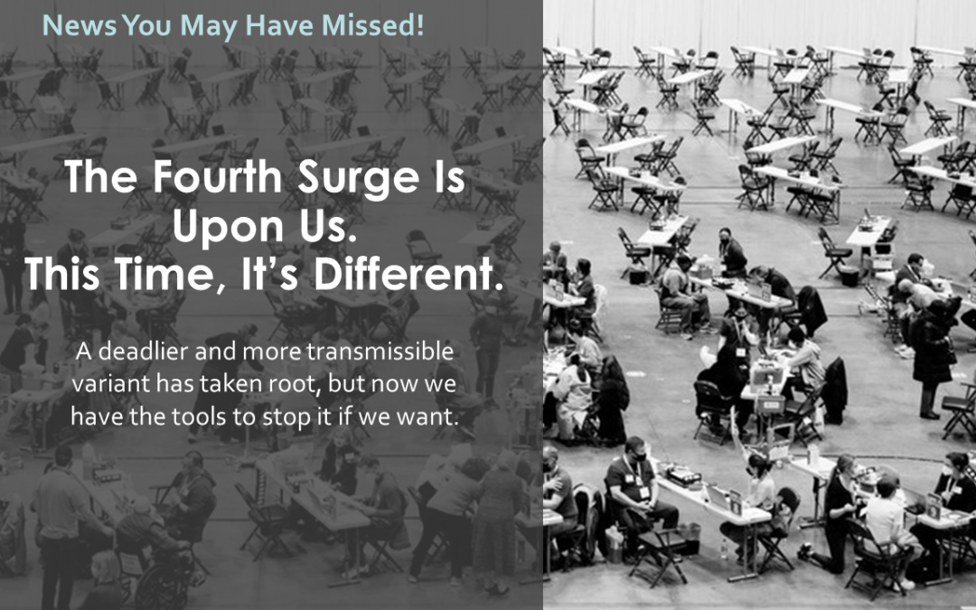 The Fourth Surge Is Upon Us.  This Time, It's Different.