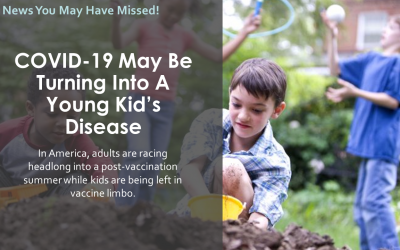 COVID-19 May Be Turning Into A Young Kid's Disease