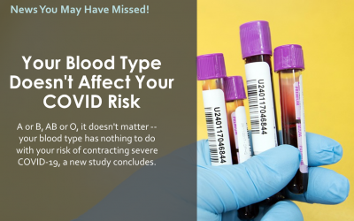 Your Blood Type Doesn't Affect Your COVID Risk